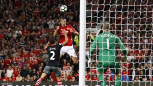 """Football Soccer Britain - Manchester United v Southampton - Premier League - Old Trafford - 19/8/16 Manchester United's Zlatan Ibrahimovic shoots at goal Action Images via Reuters / Jason Cairnduff Livepic EDITORIAL USE ONLY. No use with unauthorized audio, video, data, fixture lists, club/league logos or """"live"""" services. Online in-match use limited to 45 images, no video emulation. No use in betting, games or single club/league/player publications.  Please contact your account representative for further details."""