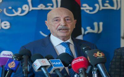 مقابلة رويترز مع عقيلة صالح حول إحتمال ظهور حكومة جديدة